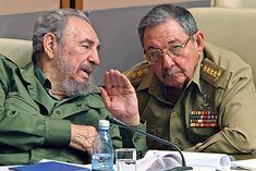 Raul Y Fidel Castro