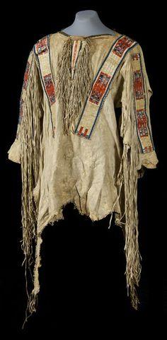Рубаха Сиу, период 1850 гг.