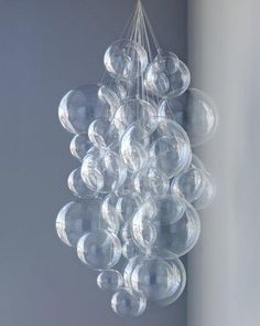 Bubble Party: Bubble Chandelier How-To