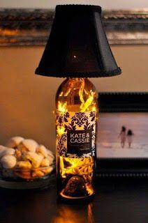 Como Hacer Lamparas Con Botellas De Vidrio Recicladas Aprende Como Hacer Lamparas Decorativas Con Botellas De Licor