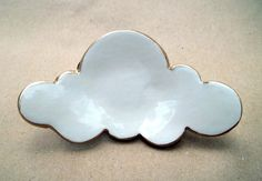 Ceramic Cloud Ring Bowl by dgordon on Etsy, $14.00