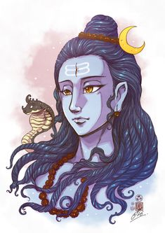 Lord Shiva also assured divine blessings to those who take a holy dip on this day, will be blessed with liberation from the cosmic cycle Shiva Hindu, Shiva Art, Shiva Shakti, Hindu Deities, Krishna Art, Hindu Art, Radhe Krishna, Lord Shiva Painting, Krishna Painting
