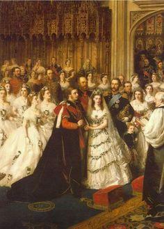 Wedding of Bertie and Alexandra
