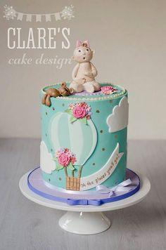 Baby & Balloon Cake