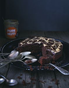 St[v]ory z kuchyne | Cocoa Cake with Almond Butter and Peanut Butter (Gluten free/ Grain Free)