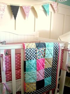basic square baby quilt