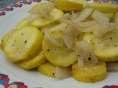The ONLY way to cook squash ~  I made this - used 2 squash, whole onion, 1 Tbsp. olive oil instead of 1/2 c. butter, pepper and just a little salt. Made 3 - 4 servings. Husband loved it!