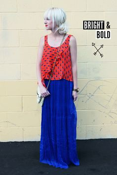 How to style a maxi skirt - Beautiful Mess