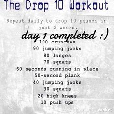 10lbs in 2 weeks. Not sure if it would work but might be worth a shot.