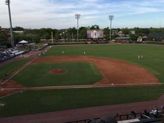 Jacksonville Suns of the Class AA Southern League Opening Day at The Baseball Grounds of Jacksonville on April 9, 2015
