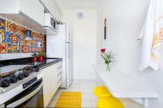 Cozinha decorada por Luciane Mota.