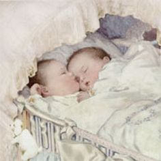 love this,,i remember our twins sleeping like this