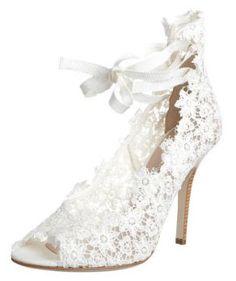 Philosophy di Alberta Ferretti Chaussures de mariee Chaussures Mariée Femme 2012 : Zalando.fr dévoile ses escarpins blancs