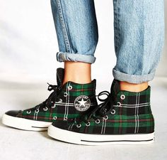 Converse Tartan Chuck Taylors, $65 | 50 Jazzy Pairs Of Sneakers Under $100
