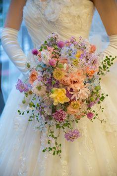 Spring Wedding Decorations, Spring Wedding Flowers, Bridal Flowers, Floral Wedding, Small Wedding Bouquets, Bride Bouquets, Floral Bouquets, Pastel Bouquet, Luxury Flowers
