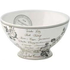 GreenGate Stoneware Soup Bowl Dora White D 15 cm White Soup, Shops, French Cafe, Tea Time, Dinnerware, Serving Bowls, Stoneware, Brunch, Mugs