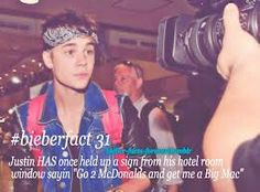 Lol #Bieberfacts justin I would soo do that!!!!