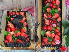 Katucikonyha: Oreo pite gyümölccsel (sütés nélkül)