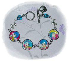 CREAMY MAMI the magic angel 魔法の天使 Yu Morisawa anime Cabochon Bracelet by MySecretGardenHK on Etsy
