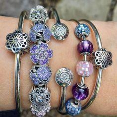 The gorgeous new Mother-of-Pearl beads make me want to wear my Essence bracelet every day, so that's the plan! #theofficialpandora #officialpandora #myarmparty #armstack #essence #balance #compassion #faith #pandoraaddict #silverjewellery #pandorabracelets #silverbangles #primrose #poeticblooms #daisylove #glassbeads #crystalbeads #motherofpearl #uniqueasyouare @theofficialpandora