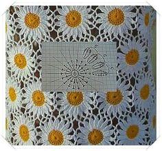 Bom dia gente!     É o que tenho prá hoje, dois lindos trabalhos com seus gráficos para vocês fazerem mantas, colchas, almofadas,...