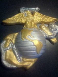 USMC EGA Cake Topper without logo by RedHandedCookies on Etsy
