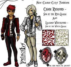 Wonderland Fashion 3 by PrinceIvy-FreshP.deviantart.com on @DeviantArt