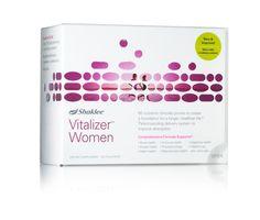 Shaklee Vitalizer for Women vitamin strips.  Free Shaklee membership with Vitalizer purchase!  Www.moyragorski.myshaklee.com $2.34 per day