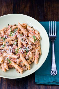 Creamy Tomato Chicken Pasta