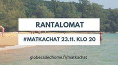Missä on maailman parhaat rannat? Tsekkaa Twitter-raadin mielipide tästä! #matkachat #loma #rannat