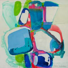 """""""Not So Independent"""" by Claire Desjardins. 48""""x48"""" - Acrylics on canvas."""