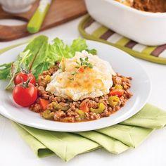 Délicieux et réconfortant à souhait, le pâté à l'anglaise laissera planer une odeur délectable dans la maison lors de la cuisson. Un plat que l'on aime servir après une journée passée à l'extérieur!
