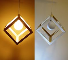 Wooden Cube pendant light  Hanging cube lamp  Swag light  Modern light  Minimal ructic light  Modern Chandelier Industrial Light Suspended by Dreamlightforyou on Etsy https://www.etsy.com/listing/238416322/wooden-cube-pendant-light-hanging-cube