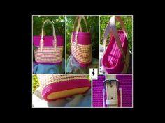 Thing 1, Emo, Straw Bag, Flora, Tutorials, Crochet, Youtube, Bags, Instagram