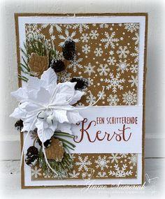 Jenine's Card Ideas: HobbyVision Challenge #55 - CAS Kerstkaart