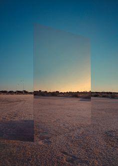 Abstract Mirror by Manu Pastrana