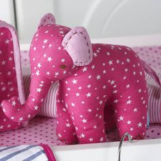 Star Print Eli Soft Toy - £15 Not on the high street . com