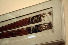 Tutankhamun's 'Amarna' sash as displayed in the Egyptian Museum, Cairo: