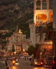 : Pictoturo - wanderlusteurope: An evening drive in Amalfi,. Pictoturo - wanderlusteurope: An evening drive in Amalfi,. Oh The Places You'll Go, Places To Travel, Places To Visit, Travel Destinations, Travel Europe, Italy Travel, Ireland Travel, Travel List, Overseas Travel