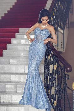 Here comes the most beautiful lady Blue Mermaid Evening Dress, Elegant Formal Dresses Prom Dresses Long Pink, Mermaid Evening Dresses, Strapless Dress Formal, Nice Dresses, Formal Dresses, Fancy Dress, Junior Party Dresses, Prom Party Dresses, Sheer Long Sleeve Dress