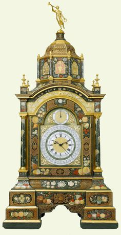 Часы. The Queen's Gallery. Букингемский дворец