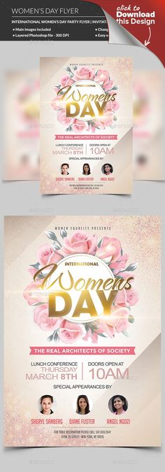 8 march flyer, club, elegant, feminine, flowers, flyer, girl, girls, International Women's Day, international womens day, ladies, ladies flyer, ladies night flyer, lady, leaflet, love, March 8, modern, mother, mother day, mothers day, mothers day flyer, night, party, spa, woman, womens, Womens day flyer, Womens day poster The International Women's Day is a special event that celebrates the women's existence and achievements to the world. The day focuses on giving respect, appreciation, and…