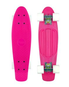 """Penny Board Pink White 22"""" $95"""