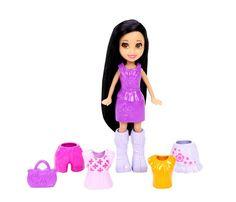 Polly Pocket Doll & Clothes - Crissy (CGJ03)  Manufacturer: Mattel Enarxis Code: 016798 #toys #Mattel #Polly_Pocket #figures #Crissy