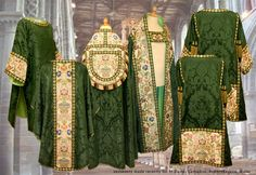 Vestments made recently for St. David's Cathedral.