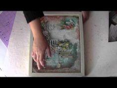 Vintage Garden Mixed Media Canvas!