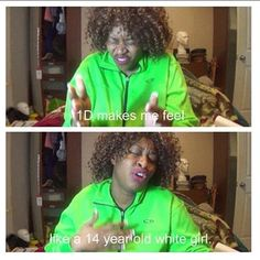 HAHAHA. Please excuse all my Glozell/One Direction posts right now. Just keep scrolling. Glozell+One Direction=best thing eveeer.