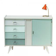 "Buffet à tiroirs vintage ""Macha"" #buffet #vintage Diy Dresser, Diy Furniture, Painted Furniture, Finding A House, Home Decor, Diy Decor, Dresser Inspiration, Display Homes, Painted Dresser"