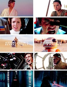 If you live long enough, you see the s a m e eyes in d i f f e r e n t people. #starwars