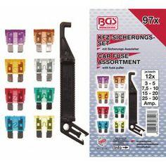 Surtido 96 piezas de fusibles www.motortool.es